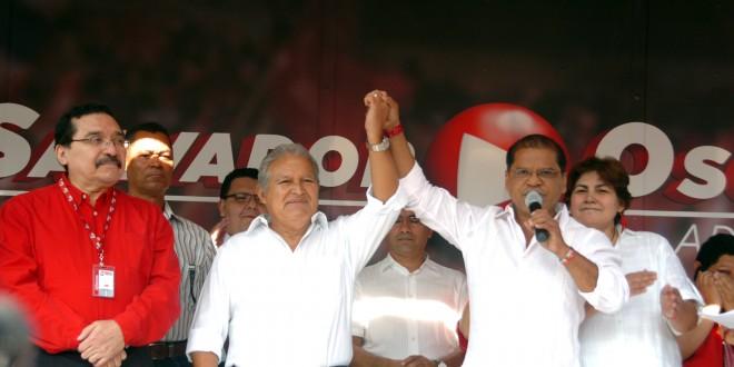 Gobiernos elogian proceso electoral y felicitan a Sánchez Cerén