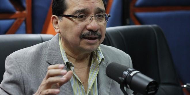 Medardo González, coordinador general del FMLN. Foto Diario Co Latino/ Rodrigo Sura.