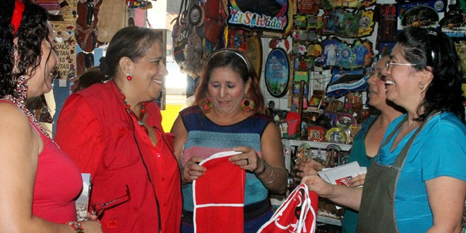 FMLN realiza caravanas de cierre y pide el voto por bandera