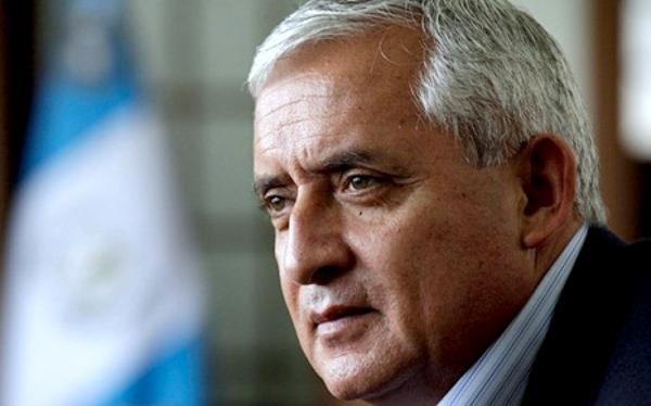 Presidente de Guatemala Otto Perez Molina.