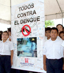 Internet contra dengue