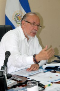 Orestes Ortez, Ministro de Agricultura y Ganadería. Foto diario Co Latino/ Wilfredo Lara