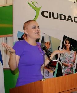 Doctora Vanda Pignato, Secretaria de Inclusión Social.