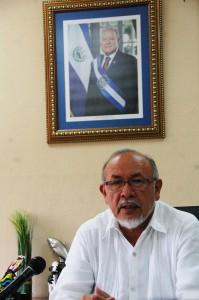 Orestes Ortez, Ministro de Agricultura y Ganadería.  Foto Diario Co Latino/Wilfredo Lara