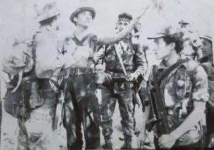 Parte de la tropa especial al mando de Ismael durante la guerra civil