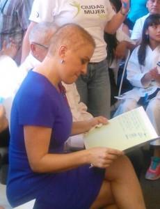 Vanda Pignato, Presidenta del ISDEMU y secretaria de Inclusión Social. Foto Diario Co Latino