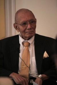 José David Calderón, cineasta, fue galardonado con el Premio Nacional de Cultura 2015. Foto Diario Co Latino/ Guillermo Martínez
