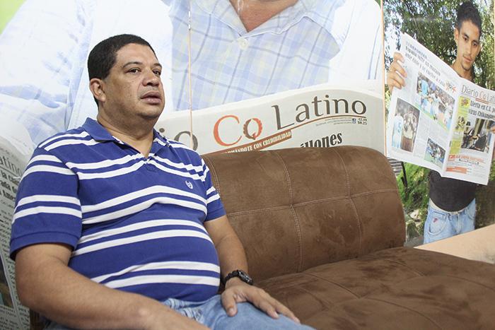 Salvador Román Alvarado, Profesor de Colegio Maya y Escuela Alberto Masferrer. Foto Diario Co Latino/Juan Carlos Villafranco.