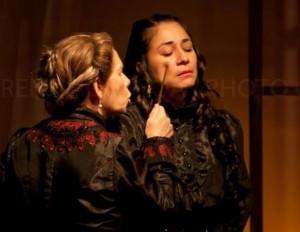 Interpretando a Magdalena en La Casa de Bernarda Alba