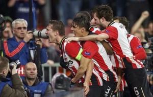 PSV Eindhoven clasificó a octavos de final de la Liga de Campeones. Foto Diario Co Latino