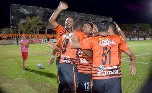 Águila se impuso 3-1 a Atlético Marte y se mantiene en el segundo lugar del Torneo Clausura 2016. Foto Diario Co Latino/ Cortesía Águila.