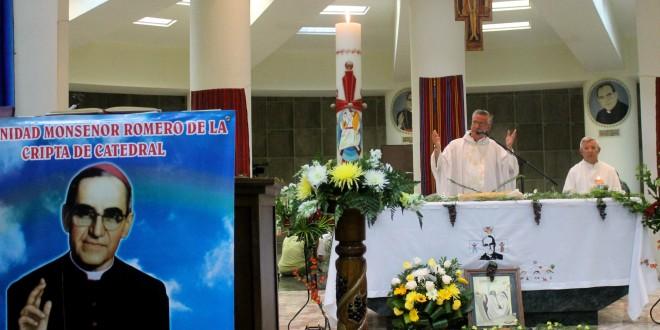 Conmemoran la pascua de Monseñor Romero,  a 36 años de su muerte martirial