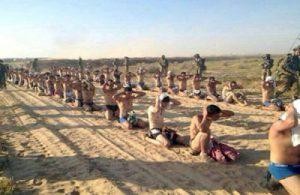 Arresto de palestinos en Gaza (2014). Foto WALLA.