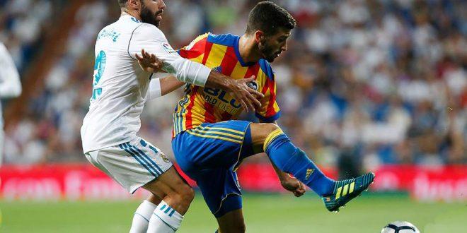 El Valencia frena al Real Madrid