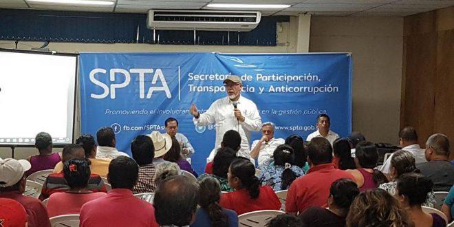 Diálogo Comunitario reúne  al sector agropecuario de Santa Ana  con ministro de Agricultura