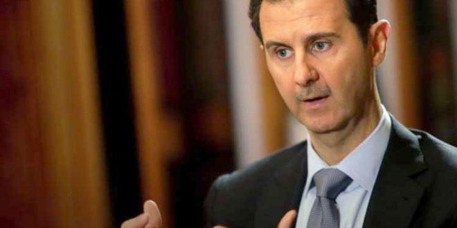 Siria dispuesta a poner fin al terrorismo, afirma presidente