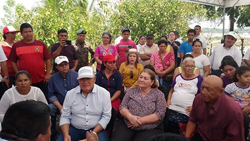 Presidencia lleva el Festival Buen Vivir a Comunidad del Bajo Lempa