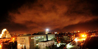 Estados Unidos, Francia y Reino Unido atacan Siria