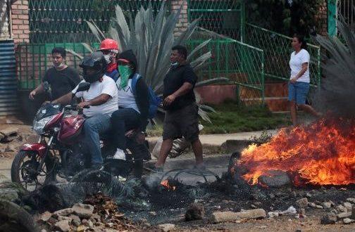 Saquean tiendas de electrodomésticos y motos en Nicaragua