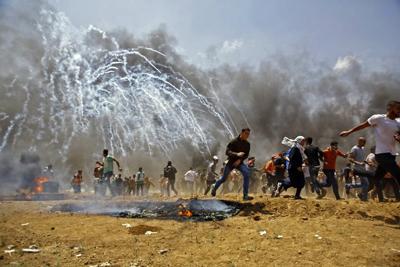 55 muertos y 2.771 heridos: Masacre de Israel en la frontera con Gaza