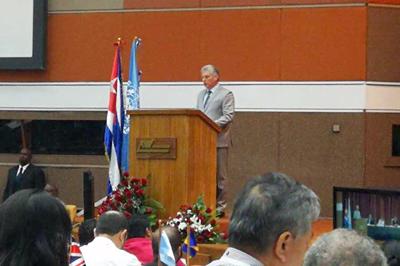 Cuba reitera compromiso con desarrollo de América Latina y el Caribe