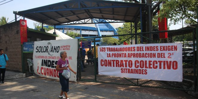 SITRAINDES exige aprobación de bono para trabajadores