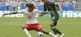 Dinamarca y Australia contentos con el empate