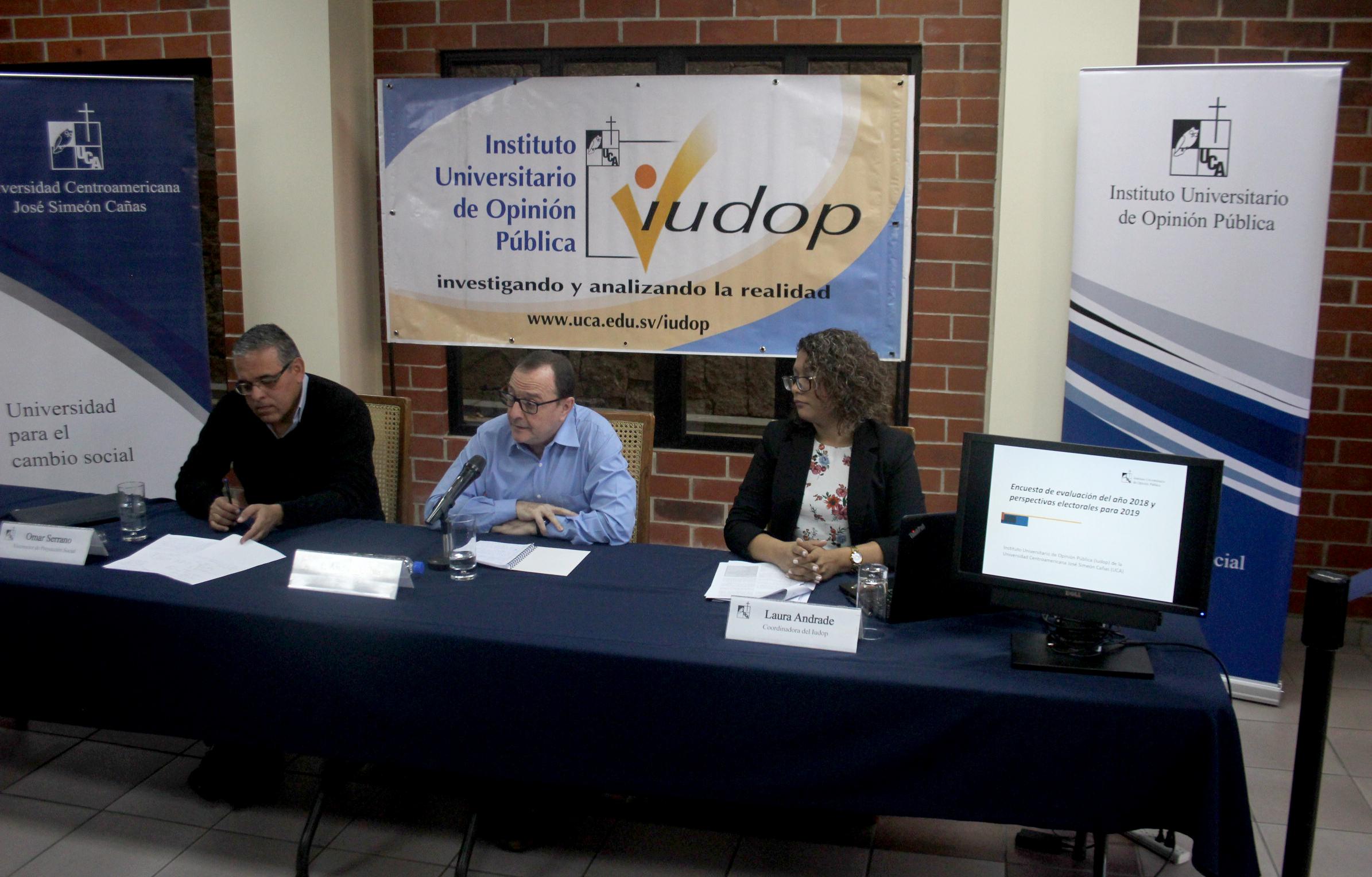 Encuesta UCA: 78.7 % de salvadoreños con intención de votar