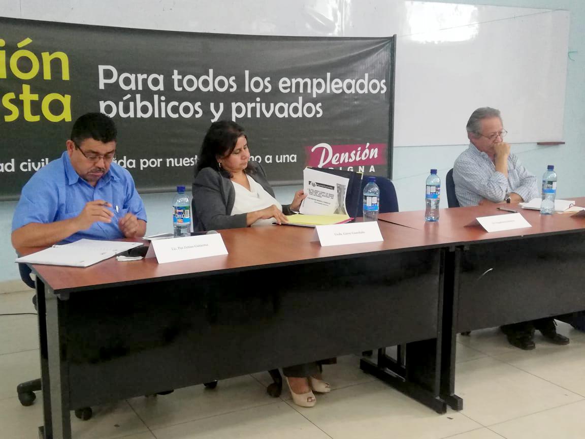 Sindicatos llaman a los trabajadores  unirse para luchar por una pensión digna